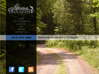 Abram's Cottages Web Site