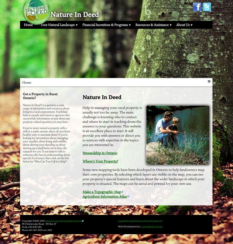 NatureIndeed.com Site Redevelopment - Proposal for Web Site Improvements