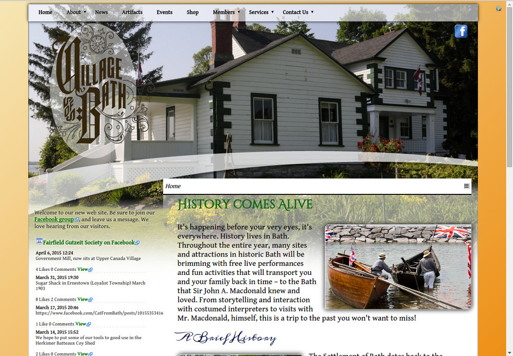 "Historical Fairfield/Gutzeit Society, ""Parent Company"" Web Site for Other Historical Sites"